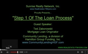 Home Buyer Series: Step #1 The Loan Process